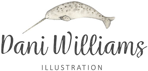 Dani WIlliams Illustration Logo