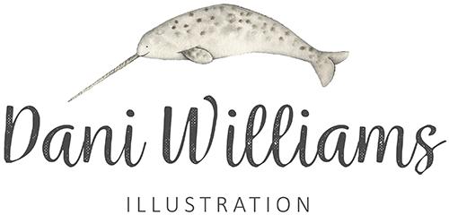 Dani WIlliams Illustration Logo